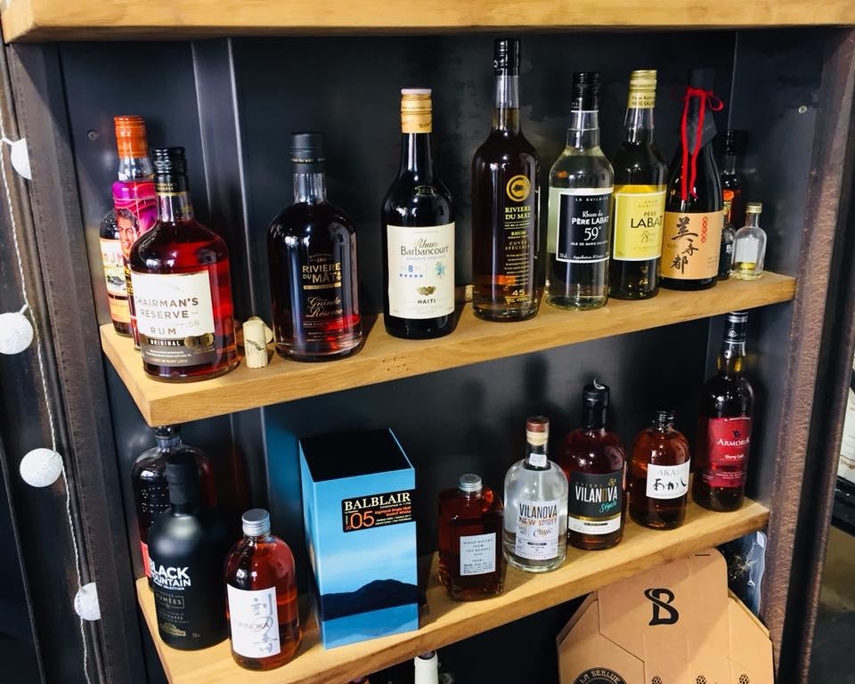 Un grand choix de Whiskies de qualité